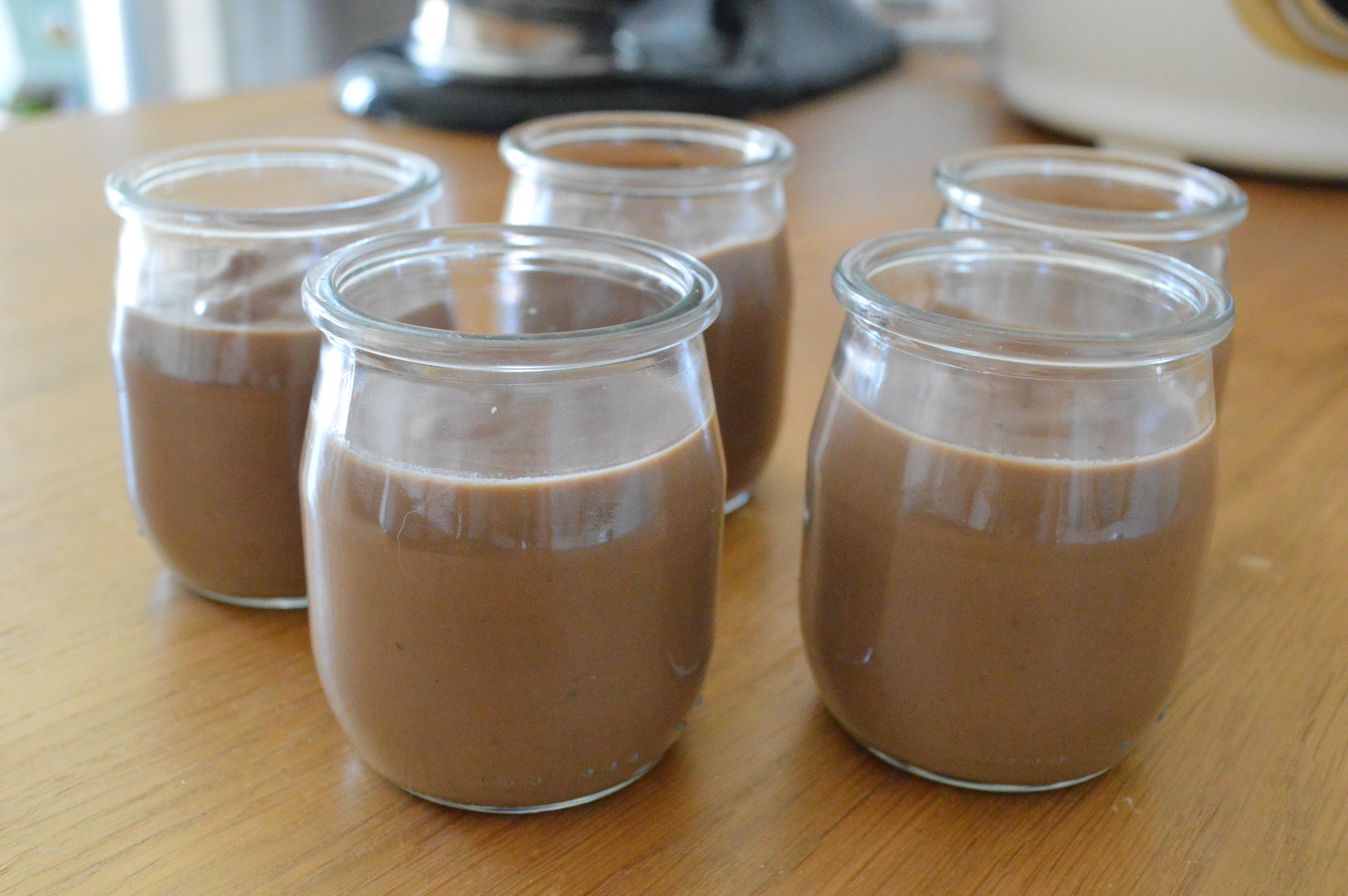cr 232 me dessert chocolat noir et pralin 233 maison gourmandises et d 233 lices