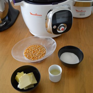 Ingrédients pop corn