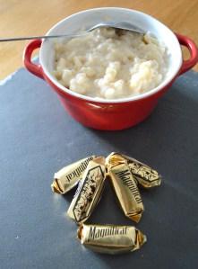 Riz au lait et magnificat