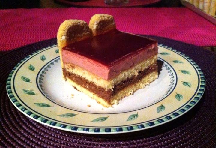 Recette gateau mousse chocolat fruit